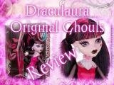 Draculaura(Дракулаура) Original Ghouls(Базовая) Review CFC61