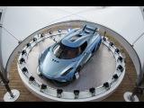 Первое более-менее видео езды из салона мощнейшего гиперкара Koenigsegg Regera