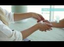 АромаТач - техника массажа рук. Шаги с 1 по 4