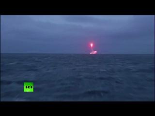 Силы ядерного сдерживания ВМФ РФ произвели пуск межконтинентальной ракеты «Синева»
