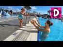 ✿ Турция День 6 Купаемся в Бассейнах Идем в Хамам Swimming and playing in the pool go to the hammam