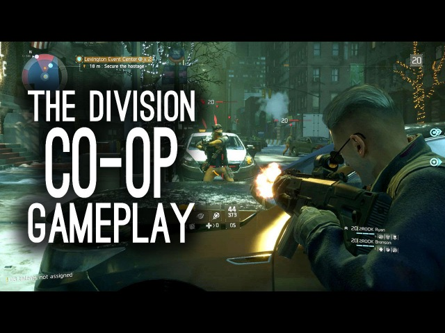 The Division Co-op Gameplay on Xbox One - Let's Play The Division (Ep. 1)