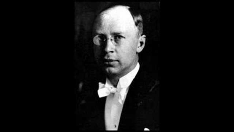 Prokofiev plays his own Piano Concerto No. 3 (2nd movement - 1932)