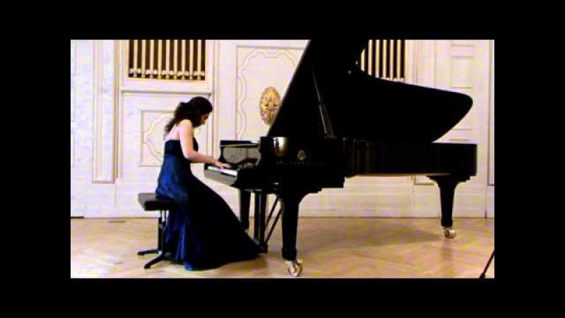 Heghine Rapyan plays: Praeludium, Passacaglia and Fugato from Mathilde Kralik von Meyrswalden