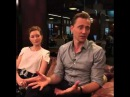 Tom Hiddleston and Wrenn Schmidt sit down with HuffPost Entertainment March 28 2016