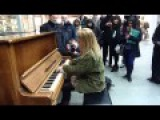 Valentina Lisitsa St Pancras International - Rachmaninov Prelude in G minor