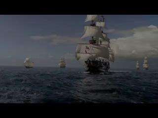 Чёрные паруса 1, 2, 3 серия 3 й сезон, сериал 2016