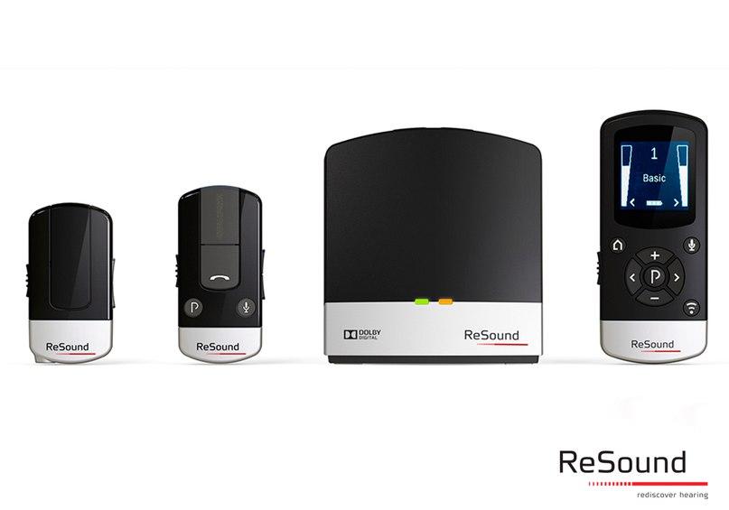 Аксессуары ReSound Unite™ – находка для продвинутых пользователей слуховых аппаратов