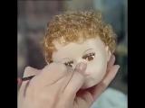 Как делают кукол: видео, снятое на фабрике кукол в 1963 году