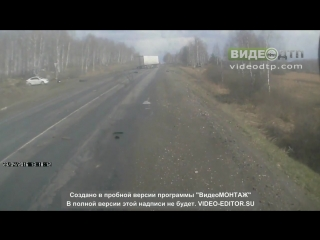 ДТП трасса М5 под Чебаркулем 23.04.2016г. | ДТП авария