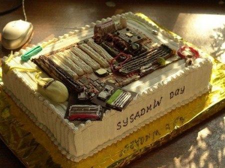 Торт сисадмину