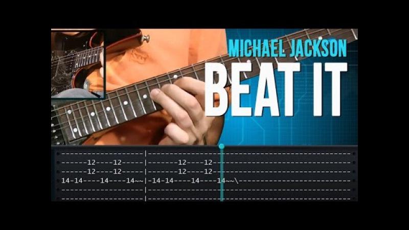 Beat It Michael Jackson how to play aula de guitarra