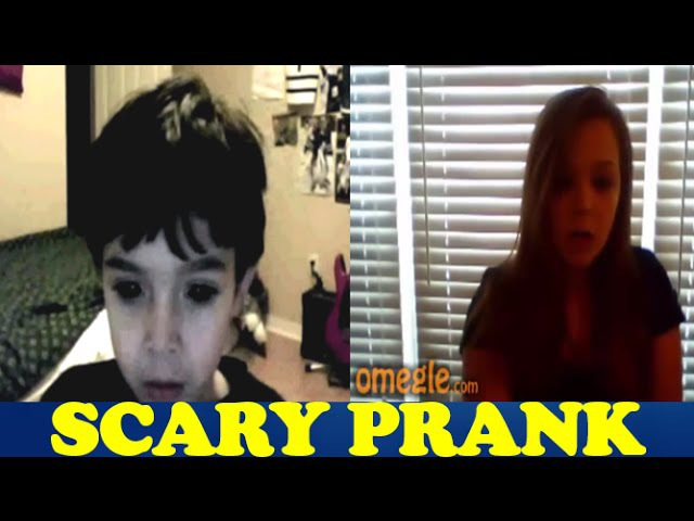 Omegle Pranks - Bloody Mary and Devil Child