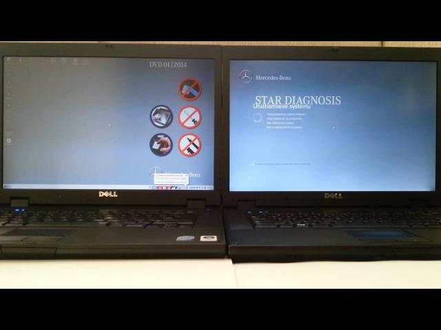 Das Xentry SSD vs HDD Dell E5500