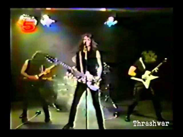 Pestilence Commandments Rare Video 1988
