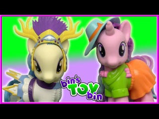SAPPHIRE SHORES & STARLIGHT GLIMMER Fashion Style My Little Pony Review | Bin's Toy Bin