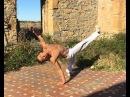 Capoeira Tutorial Meia Lua Reversao Lambida de Peixe ENGLISH SUBTITLES