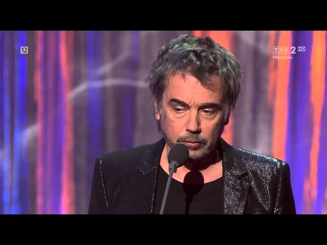 20160420 TVP 2 HD Jean Michel Jarre at Fryderyki 2016 Poland