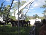 MVI_8978 Установка вагончика на Пионерском озере 1 июня 2016 г.