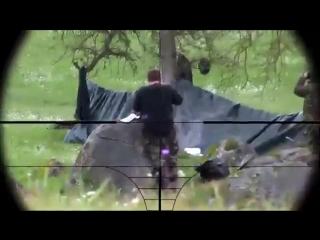 Снайпер нейтрализовал всю вражескую команду