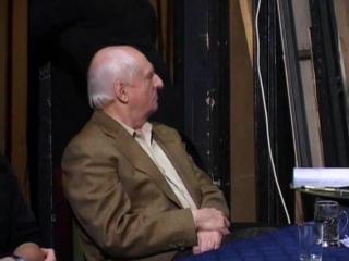 """Марк Захаров. Репетиция в Ленкоме спектакля """"Женитьба"""" (2005)."""