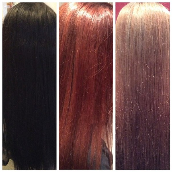 Как вывести черный цвет волос: смывка черного цвета 40