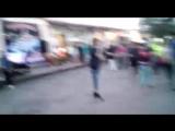 караоке под открытым небом ))любимый братишка и песня