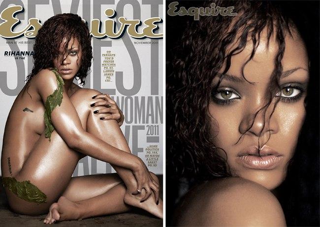 Рианна на обложке журнала