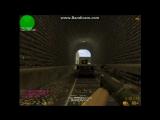Прострел на карте de_train:DDD