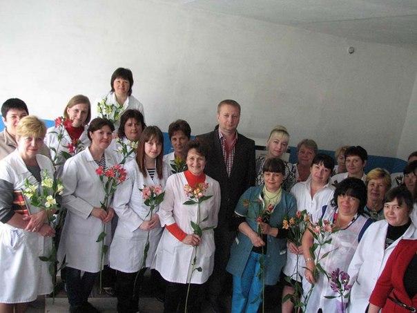 Вітання із Всесвітнім днем медичної сестри