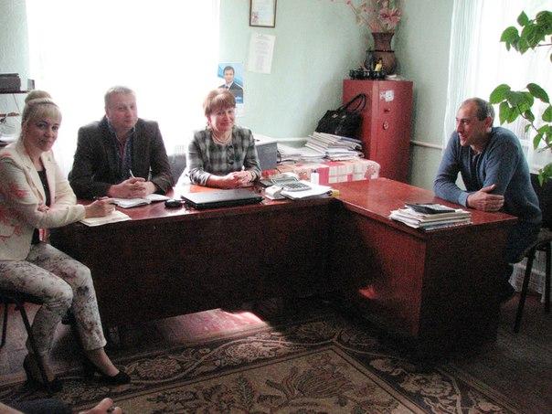 Перший заступник голови Печенізької районної державної адміністрації Никитченко М.А. провів виїзний прийом громадян