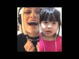 Jessie J karaoke Flashlight Smule &amp AMAZING CUTE LITTLE GIRL SINGING!! (Cover)