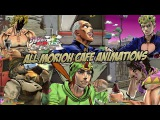 JoJo's Bizarre Adventure: Eyes of Heaven - All Morioh Cafe Deux Magots Animations