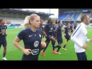 Equipe de France Féminine France Canada à guichets fermés à l'Abbé Deschamps