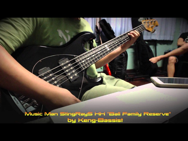 Music Man StingRay5 HH Ball Family Reserve by Keng-Bassist