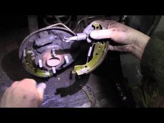 Ремонт последствий срыва задних колодок на Джилли МК кросс, часть 2