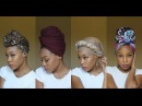 4 Quick EASY Headwrap Turban Styles Short Natural Hair TWA Friendly