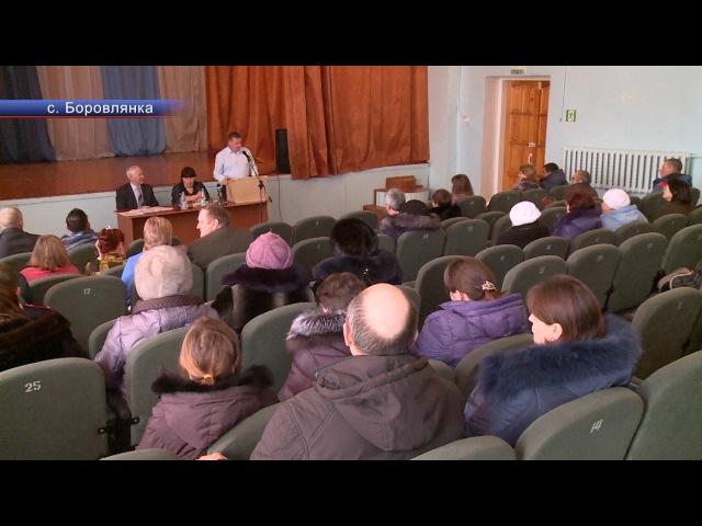 Диалог народа и власти в Боровлянке