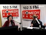 Марина Кравец на радио.
