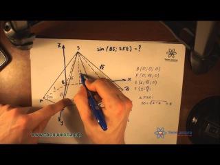 ЕГЭ по математике 2014. Как решать C2. Координатный метод 3