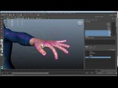 Maya Rigging 6 Custom attributes and Set Driven Keys for finger curls