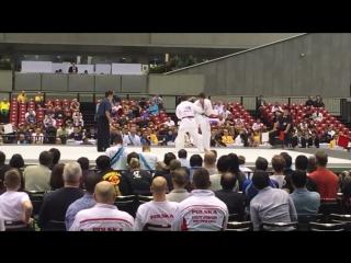 ANTONIO TUSSEAU VS LASHA GUBARAEV - ЧЕМПИОНАТ МИРА В ЯПОНИИ 2015