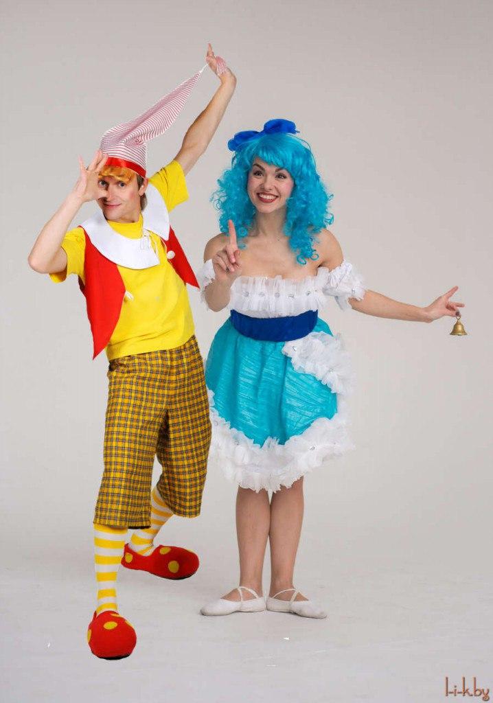 Сказочные персонажи на праздники для детей и взрослых от 39 руб.