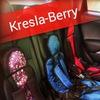 Бескаркасные Автокресла Berry