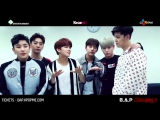 [VIDEO MESSAGE] 160313 B.A.P LIVE ON EARTH 2016 CANADA AWAKE!!