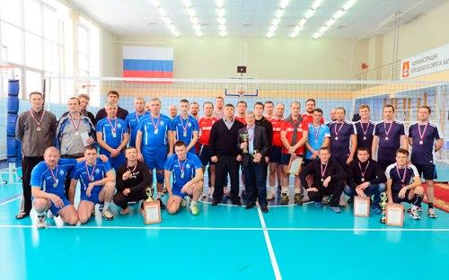 Волейбол среди ветеранов 2016