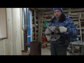Отопительная печь длительного горения бубафоня своими руками