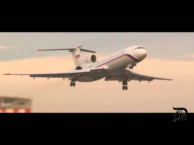 Самолёту Ту 154 посвящается