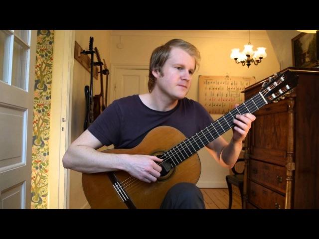 Rosita (Polka) - Francisco Tarrega (Acoustic Classical Guitar Cover by Jonas Lefvert)
