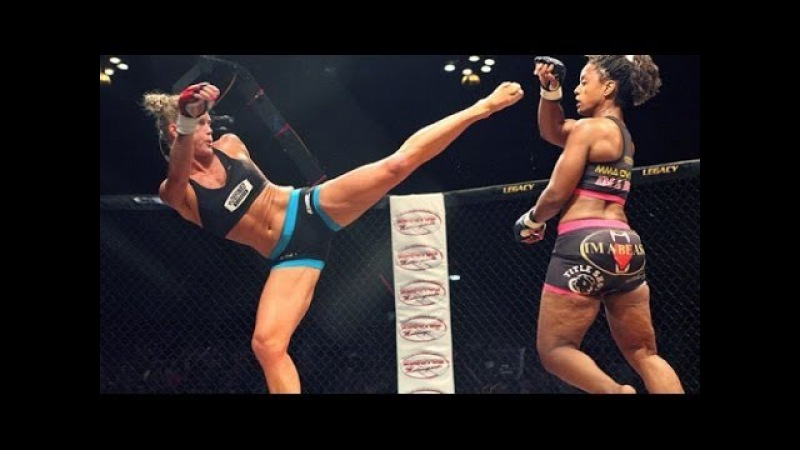 Holly Holm BRUTAL HIGH KICK KNOCKOUT